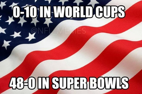 At least we have Super Bowls