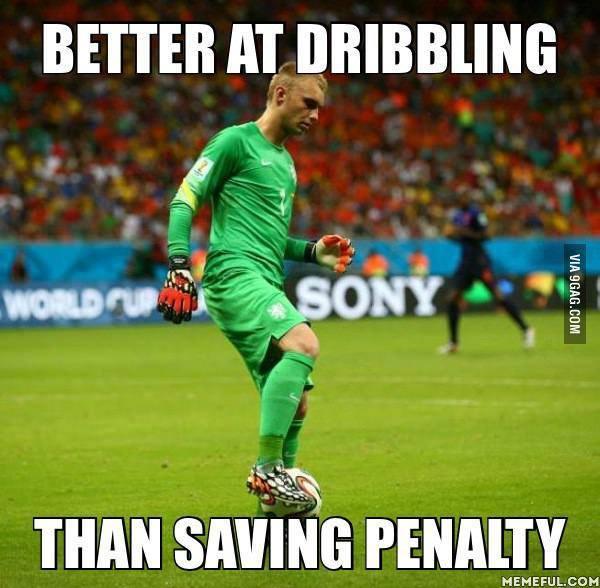 Better at Dribbling
