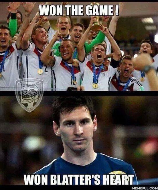 Blatter's heart