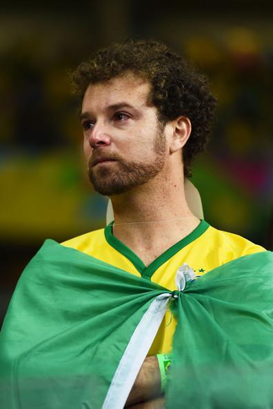Brazil Fan Crying
