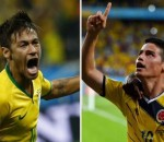 Brazil vs Colombia