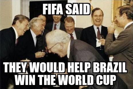 FIFA didn't help