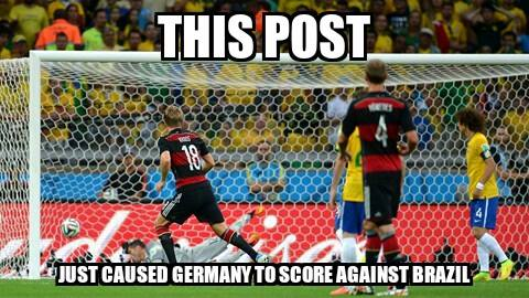 Germany just scored