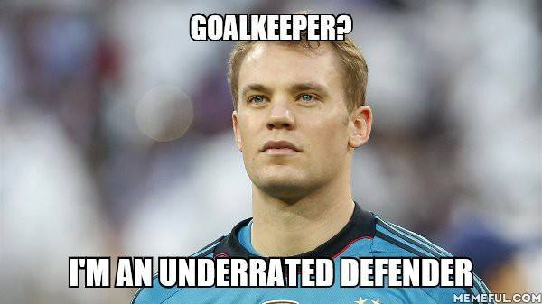 Goalkeeper or Defender
