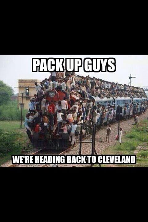 Going back to Cleveland 2.0