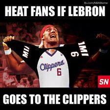 Heat fans reaction