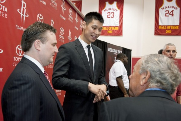 Jeremy Lin, Daryl Morey