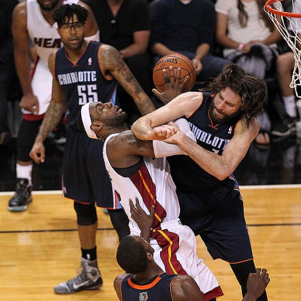 LeBron James, Josh McRoberts