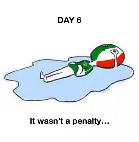 Mexico still crying