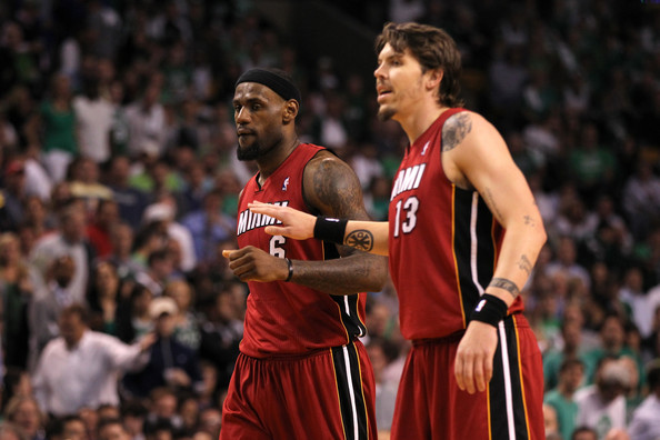 Mike Miller, LeBron James