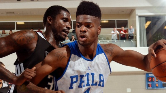 Nerlens Noel Philadelphia 76ers   Nerlens Noel Showing Hes Worth the Wait
