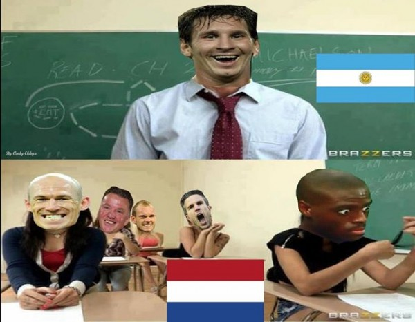 Netherlands waiting for Messi