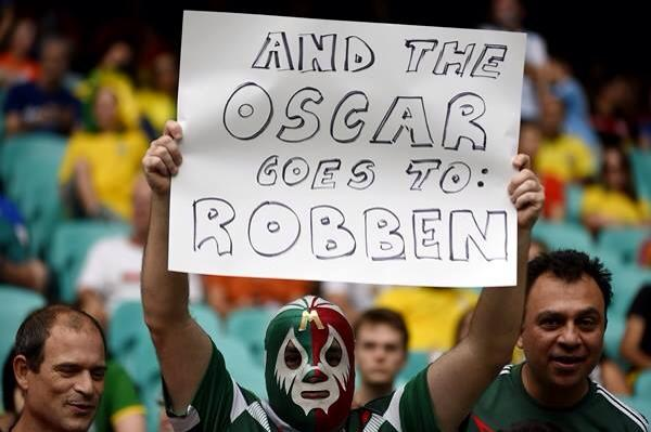 Oscar goes to Robben