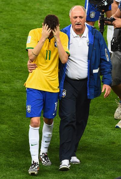 Oscar in tears