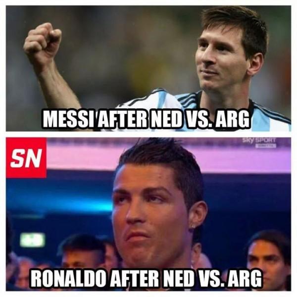 Ronaldo not happy