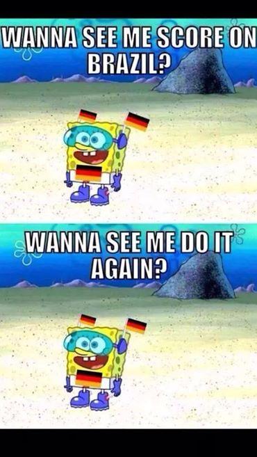 Scoring on Brazil