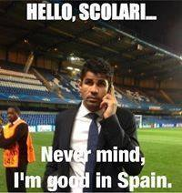 Spain's Good for him