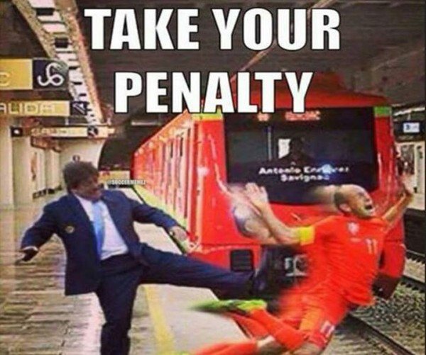 Take your penalty
