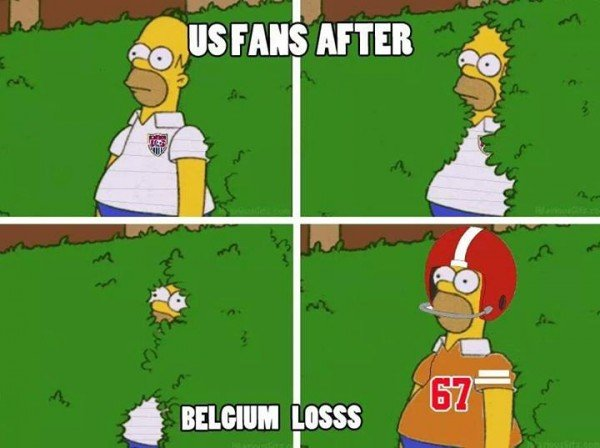 US Fans After loss