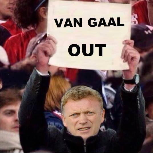 A wild Moyes appears