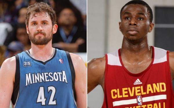 Andrew Wiggins, Kevin Love