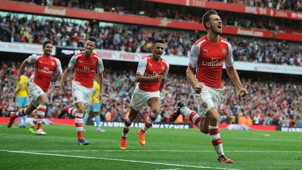 Arsenal beat Crystal Palace