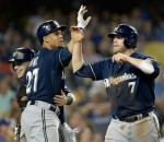Brewers beat Dodgers