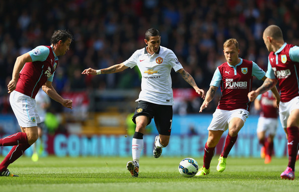 Burnley draw with Manchester United