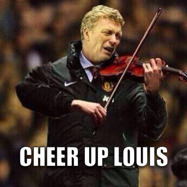 Cheering Van Gaal up