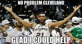 Duncan helped