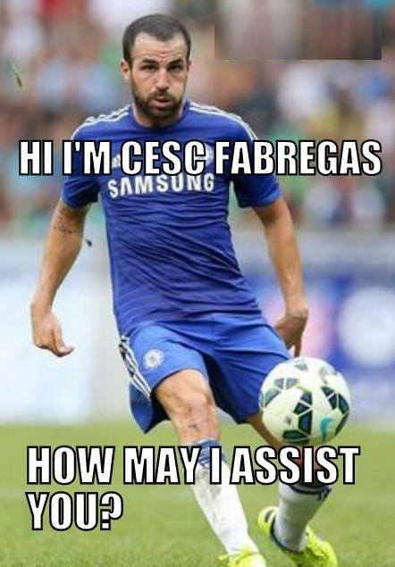 Fabregas Assist Man