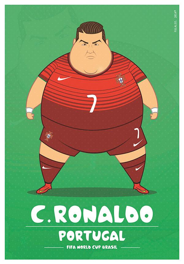 Fat Portugal Ronaldo