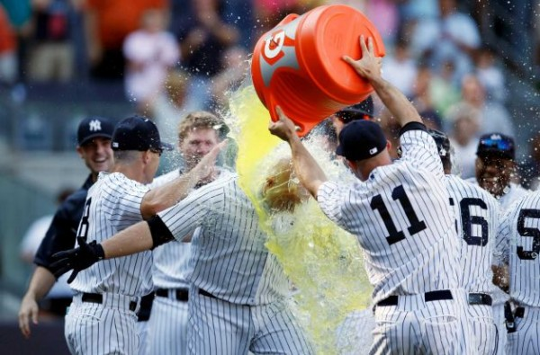 Gatorade celebration