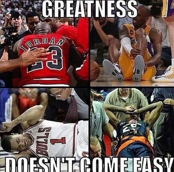 Greats get injured