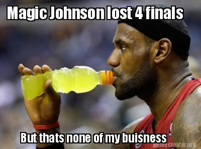 LeBron and Magic