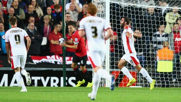 MK Dons beat Manchester United