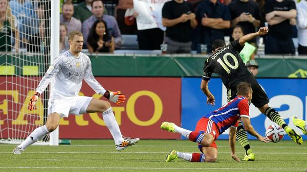 MLS All-Stars beat Bayern Munich