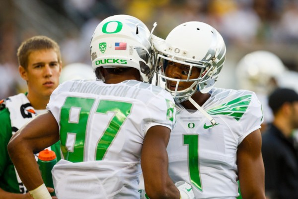 Oregon beat South Dakota