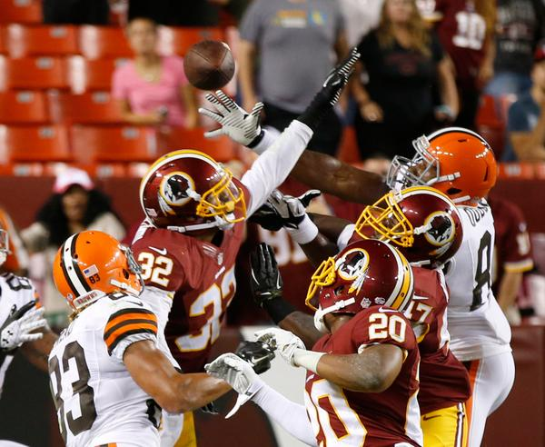 Redskins vs Browns