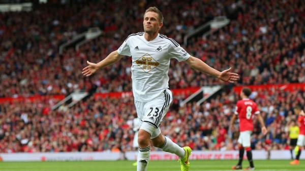 Swansea beat Manchester United