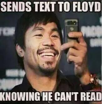 Texting Floyd