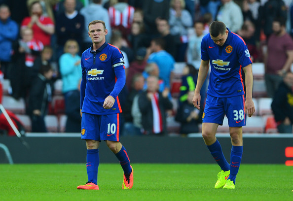 Usual Manchester United dejection