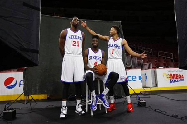 76ers media day