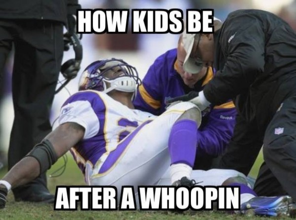 After a Whoopin