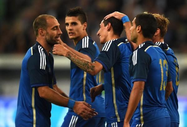 Argentina beat Germany