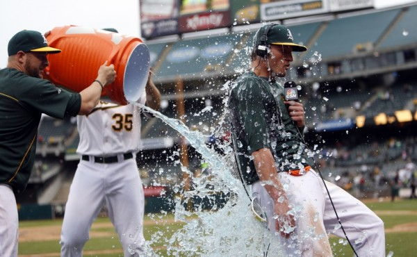 Athletics beat Phillies