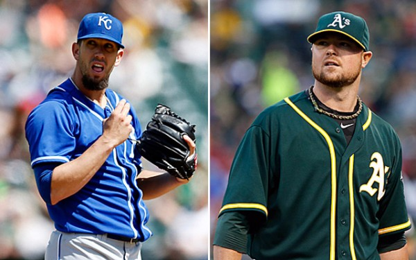 Athletics vs Royals