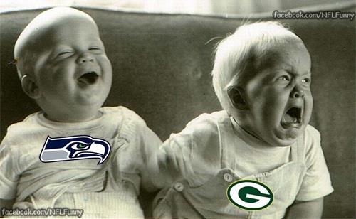 Babies 18 Best Memes of the Seattle Seahawks Beating the Green Bay Packers