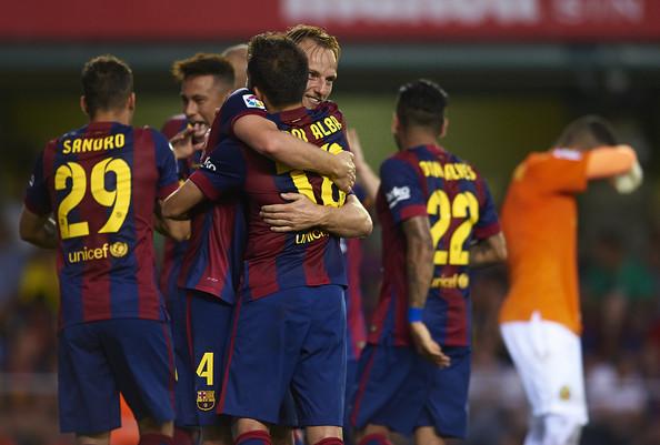 Barcelona beat Villarreal