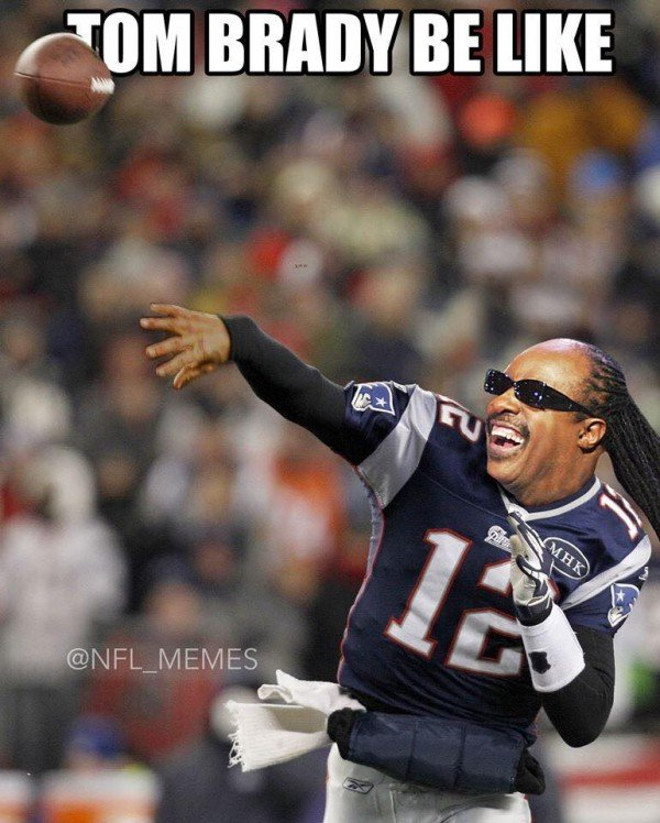 Brady be like